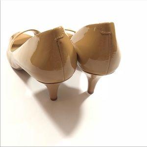 Jessica Simpson Shoes - NWOT Jessica Simpson D'orsey Nude Kitten Peep Heel